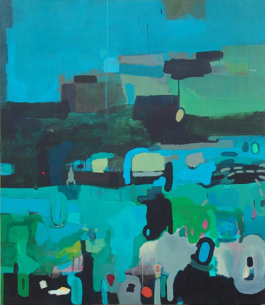 'The brunch'. 140 x 120 cms.