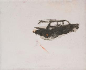 Go Far, Guillermo Moreno, Pintor, Artista español, Jairen, Coche, Acrílico sobre tela, acrílico, artist, acrilic